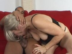 Mabel the kinky mature woman enjoys rough sex