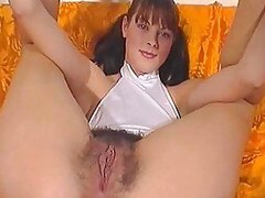 Hairy sister and brother's mate fuck by TROC