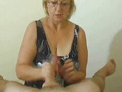 Handjob compilation with fun cumshots