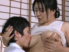 Hot Busty Mature Japanese Giving Loads of Pleasure to a Lucky Cock