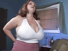 Big fat all natural slut fucked by big cock