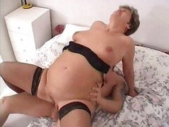 Milf with fat ass fucked in her rectum