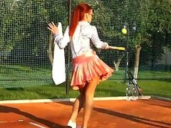 Catfight Between Pissed Off Wetlook Badminton Babes