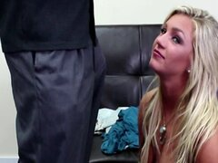 Blonde teen on the Casting Couch