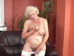 Grandma Rides Dick Like A Motherfucker!